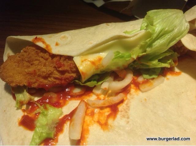 McDonald's Big Flavour Wraps
