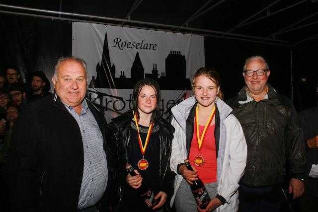 winnaars dames Krottegemse corrida 5 km jogging