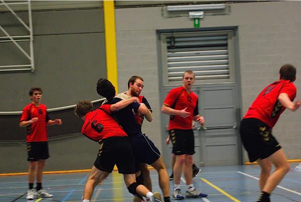 handbal aanvallen