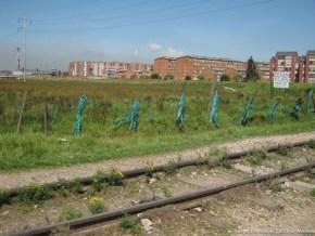Ferrocarril por la calle 22, Humedal Capellanía