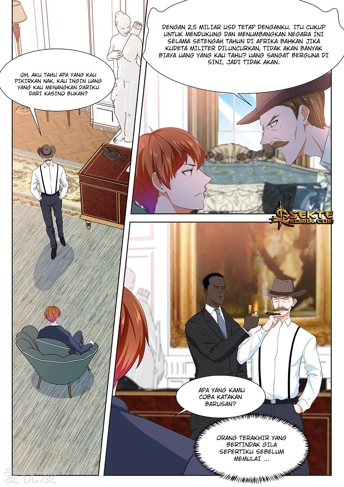 Metropolitan System: Chapter 284 - Page 15