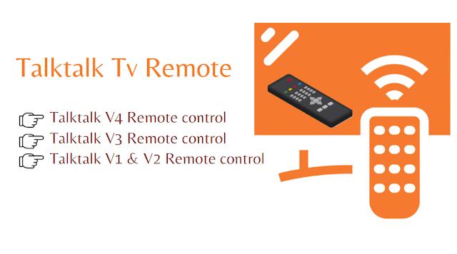 Talktalk Tv remote control