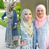 party stylish hijabi for 2016 style