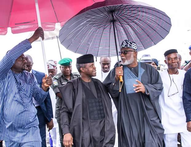 One Word For These Photos Of Akeredolu With Osinbajo