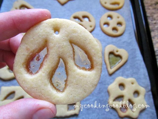 Бисквити с витраж