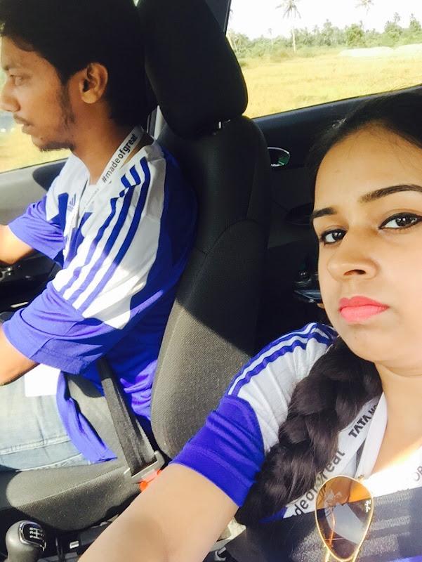 Driving through the beautiful roads of Goa