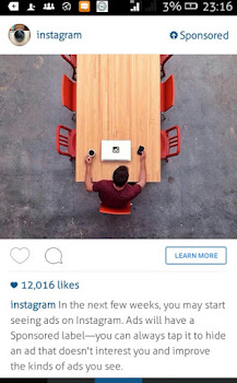 Instagram to start running Ads in a few weeks - How It Works 1
