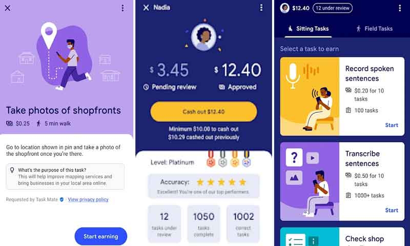 Google Launches Taskmate app for Earning Money for Home