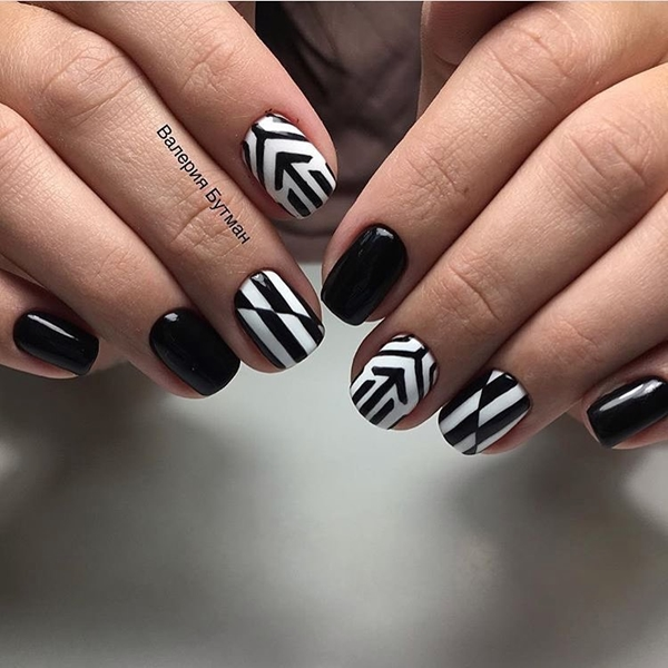 20 Multi Color Stripes Nail Art For New Year 2017 Reny Styles