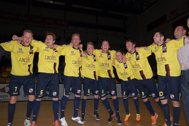 Synergie Merelbeke won de Beker van België minivoetbal