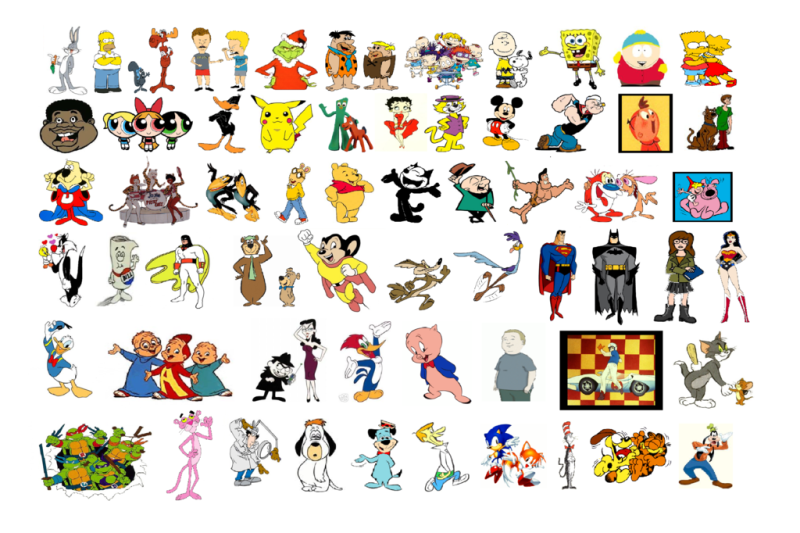 1 Cartoon Character Of All Time : All time greatest cartoon characters adultcartoon