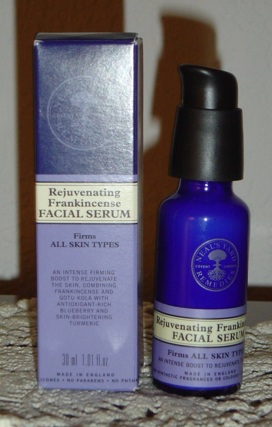 NYR Organic Rejuvenating Frankincense Facial Serum