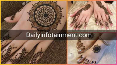 Simple Mehndi Designs 2021 to give yourself a unique touch