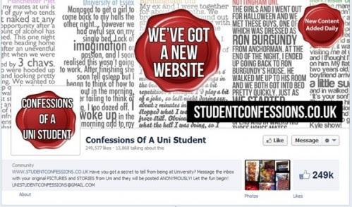 Confessions fanpage