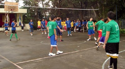 Blue vs Green (Volleyball Boys)
