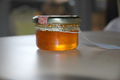 confit de Sauternes au safran