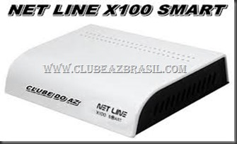 ATUALIZAÇÃO NET LINE X100 SMART