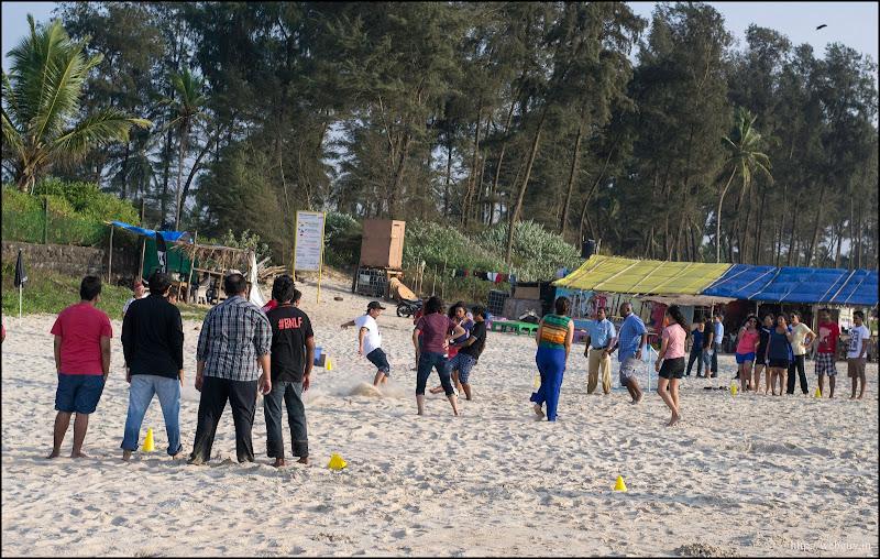 `Beach football - Gonsua beach, Majorda