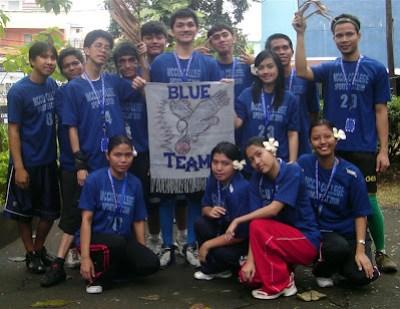 Blue Team Banner Parade