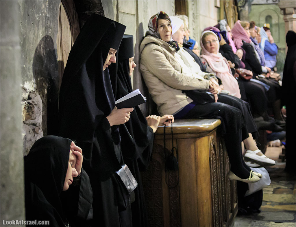 Патриарх Кирилл в Иерусалиме, Храм Гроба Господня | Church of the Holy Sepulcher. Official visit of Patriarch of Moscow and All Russia Kirill in Israel | LookAtIsrael.com - Фото путешествия по Израилю