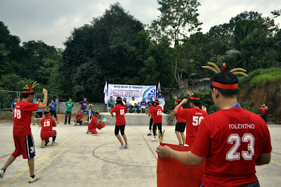 Red Team Cheerdance Performance