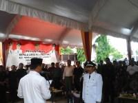 Pelantikan Kepala Desa Bojonegara Kec. Tambakdahan