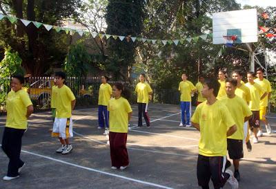 Cheerdance Show - Yellow Team