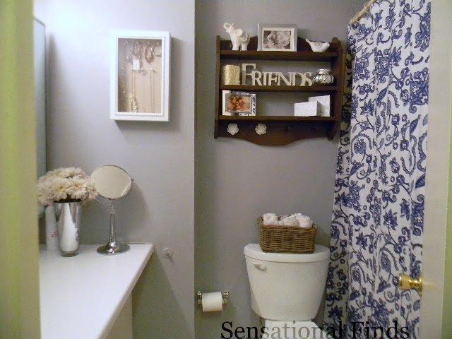 Sensational Finds: Decorating Our Apartment Bathroom