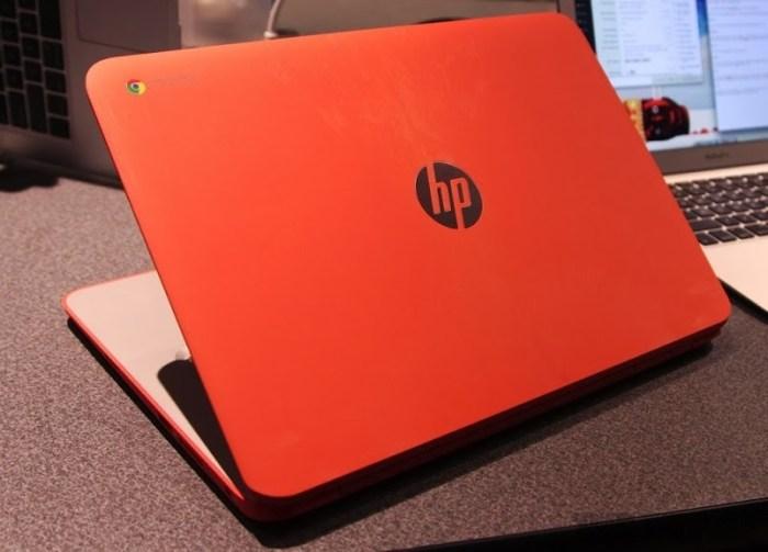 HP Chromebook 14 Orange