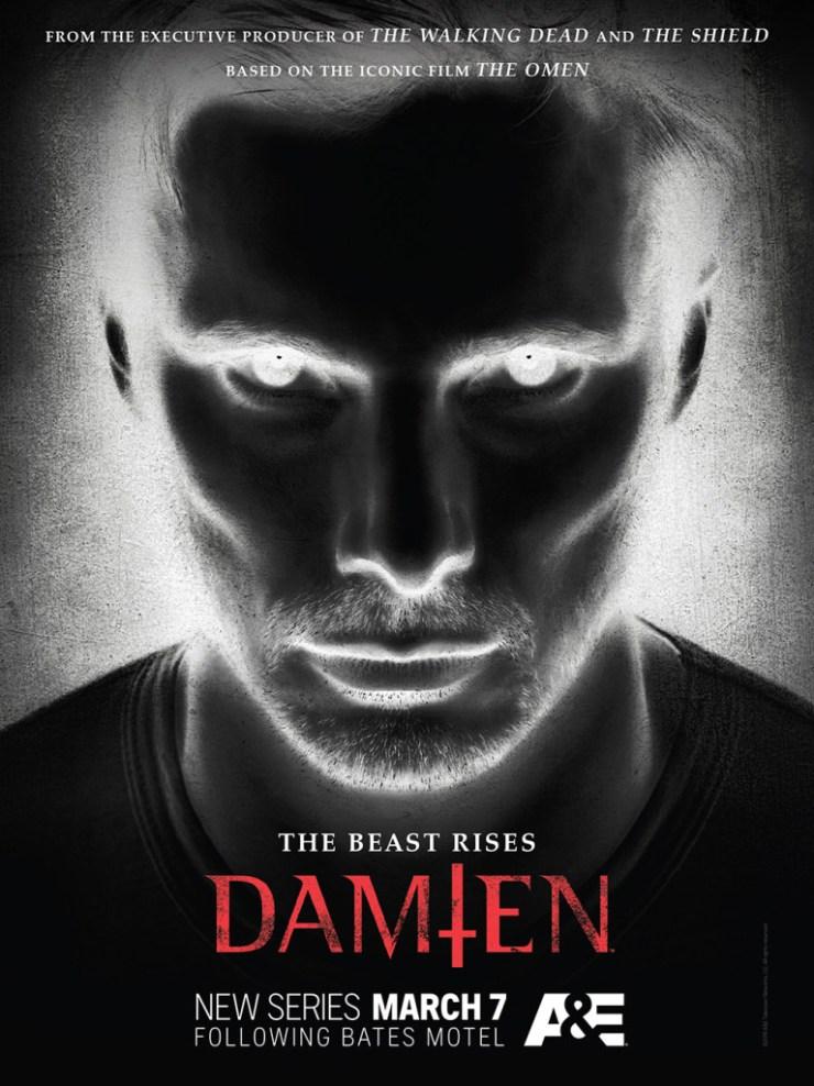 O anticristo ressurge no novo cartaz de DAMIEN