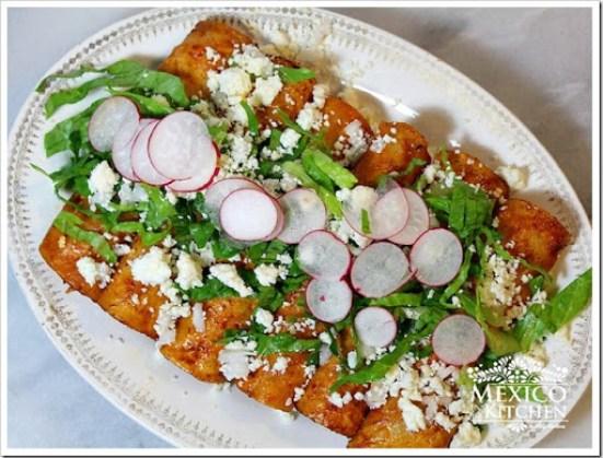 Red Enchiladas recipe authentic