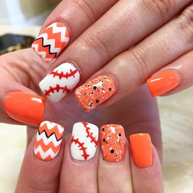 Top 10 amazing sporty baseball nail art designs for 2018 - Top 10 Amazing Sporty Baseball Nail Art Designs For 2018 - Fashonails