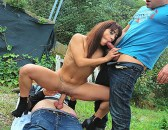 WTFPass – Pickup Fuck: Lucia Nieto - Sexy and wild outdoor fucking with a filthy babe