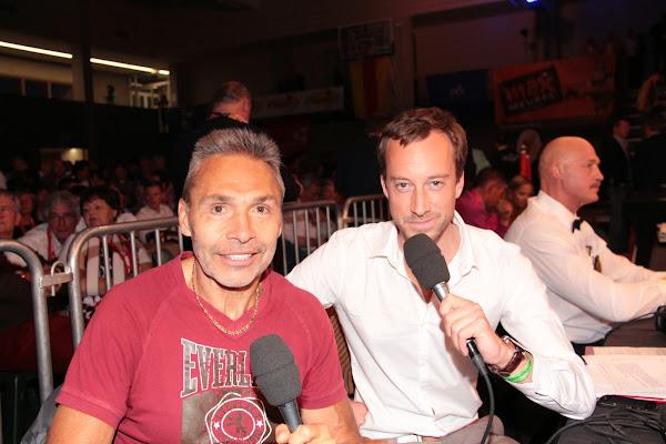Freddy De Kerpel & Dieter van sportzender 40 van telenet