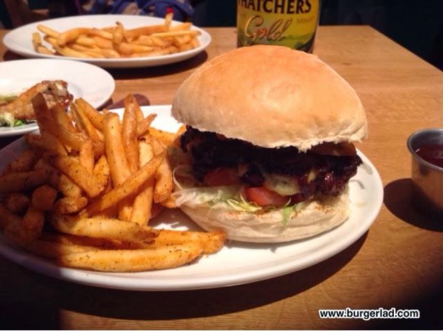 Atomic Burger Joker Special Burger Review