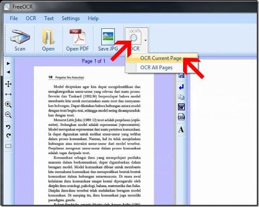 cara mudah copy paste text dari gambar koran majalah