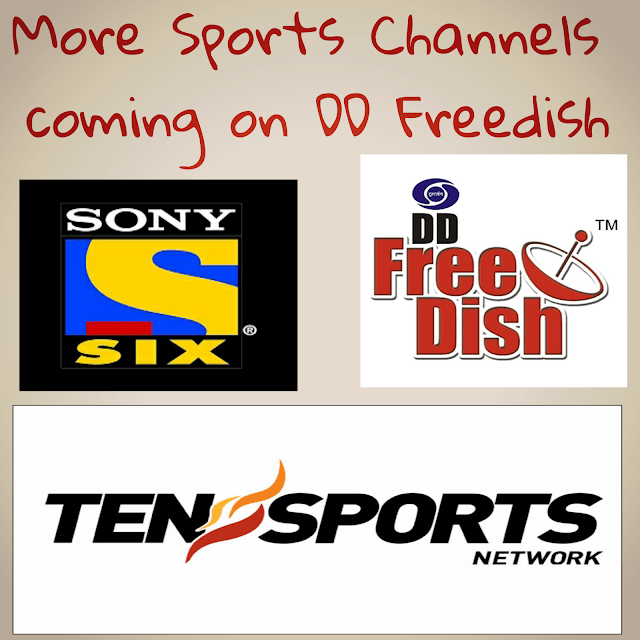 Exclusive News For DD Freedish users more new sports channels coming soon 1
