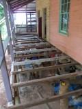 Renewed floor beams