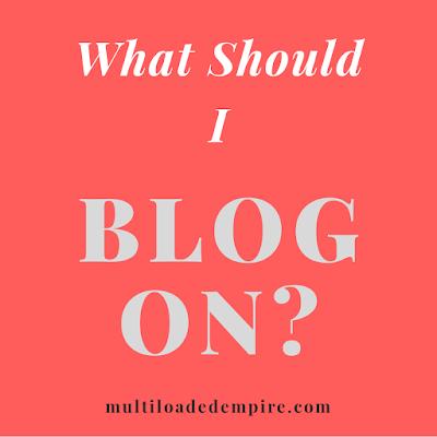 Multi-niche Vs Single-niche blogging
