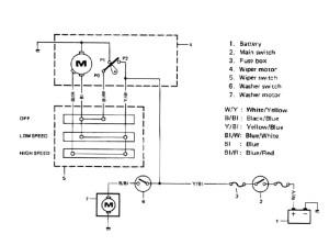 SuzukiJeepinfo: Windshield Wiring