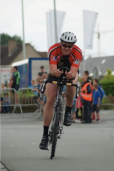 fietsen tijdens triatlon