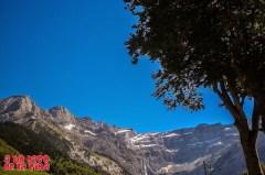 Vista desde el bar del camping ©aunpasodelacima