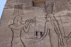 Temple of Hathor in the Dendera Temple complex, close to Qena.