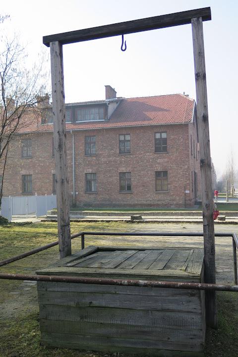 Der Ort, an dem Rudolf Höß getötet wurde