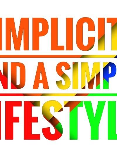 simple lifestyle