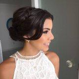 trendy bridal hairstyle designs 2017