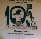 Javalambre 2003
