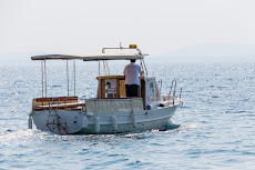 Our little taxi boat.