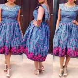 Latest Ankara Gown Styles 2017