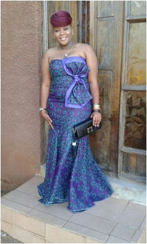 mitindo mipya ya nguo za vitenge    , Fashion 2D